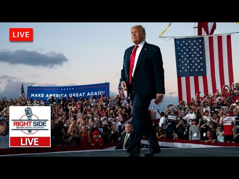 ? Watch LIVE: President Trump Holds Campaign Event in Muskegon, MI 10/17/20
