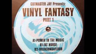 Cutmaster Jay - Power In The Music