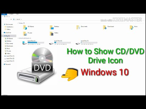 How To Fix CD/DVD Icon Not Showing In Laptop (Windows 10) 😱😱