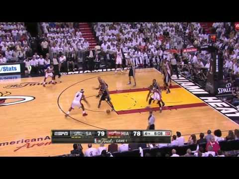 2013 NBA Finals San Antonio Spurs vs Miami Heat Game 1 ᴴᴰ