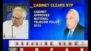 Cabinet approves new telecom policy - NewsX