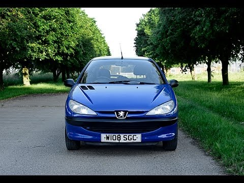 2000 peugeot 206 lx video review starting youtube. Black Bedroom Furniture Sets. Home Design Ideas