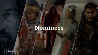 2016 Oscar Winner Prediction : Best Visual Effects