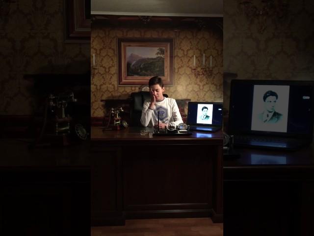 Изображение предпросмотра прочтения – МаксимДавыдов читает произведение «Необычайное приключение, бывшее сВладимиром Маяковским летом надаче» В.В.Маяковского