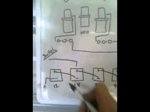 Wiring Diagram for hydraulic set up on a car - YouTube