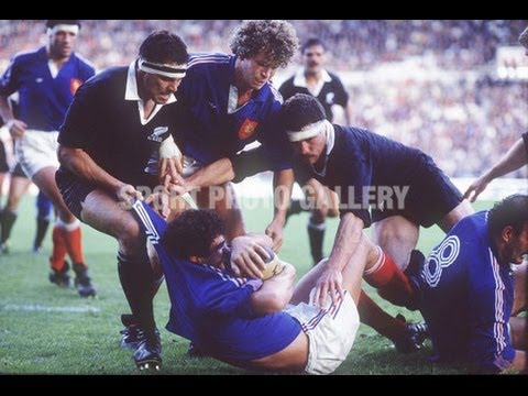 1986 Rugby Union match: France vs New Zealand All Blacks (2nd Test aka The Battle of Nantes)