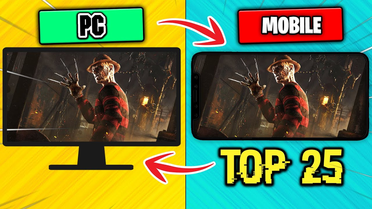 Download Top 25 PC & Console Games Ported To Mobile! | (Android/iOS)