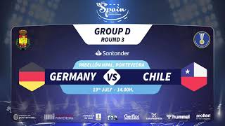 Германия до 21 : Чили до 21
