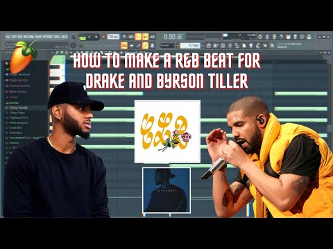 How To Make R&B Type Beats for Drake and Bryson Tiller 🥀| FL Studios 20 Tutorial | #Anniversary CLB
