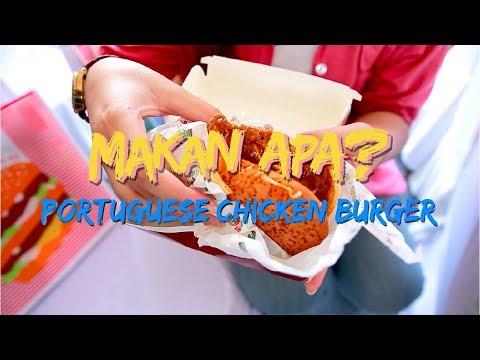 McDonald's Portuguese Chicken Burger | Makan Apa?