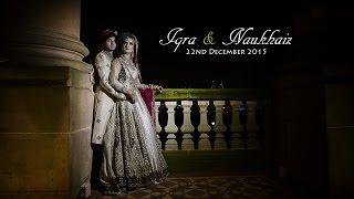 Pakistani Cinematic Wedding Highlights- Iqra & Nukhaiz