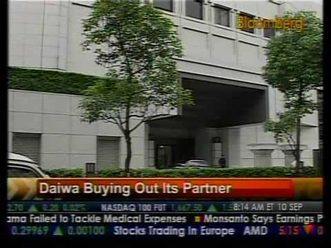 Daiwa Buys Out Its Partner - Bloomberg