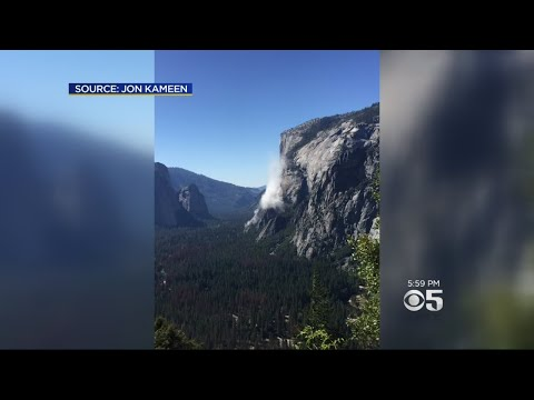 One Dead, One Hurt In El Capitan Rockfall At Yosemite