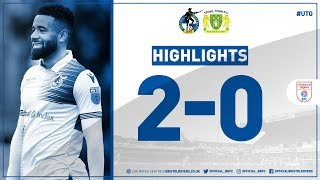 Match Highlights: Bristol Rovers 2-0 Yeovil Town