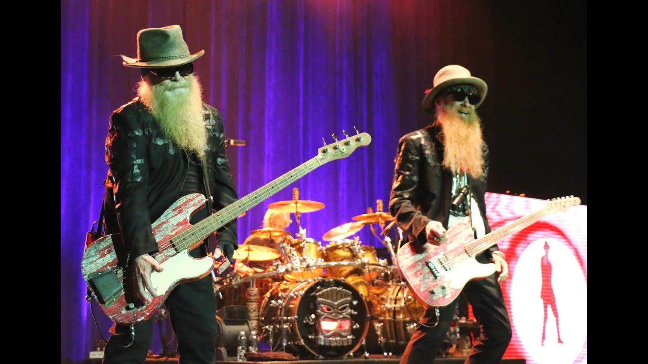 ZZ TOP in concert El Paso Tx, April