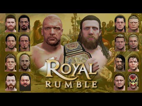 WWE 2K16 Universe Mode - SNME Episode 49: SNME Royal Rumble #SNME