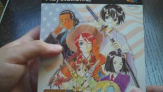 Sakura Wars: So Long, My Love Premium Edition Unboxing (PS2)