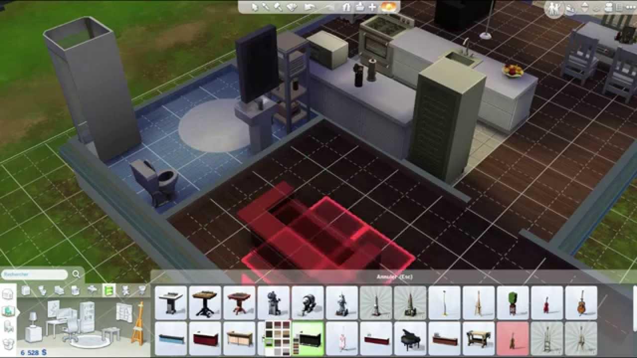 aménagement maison sims 4