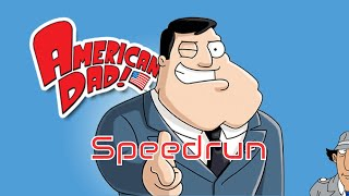 Cursed American Dad Any% Speedrun (GameCube)