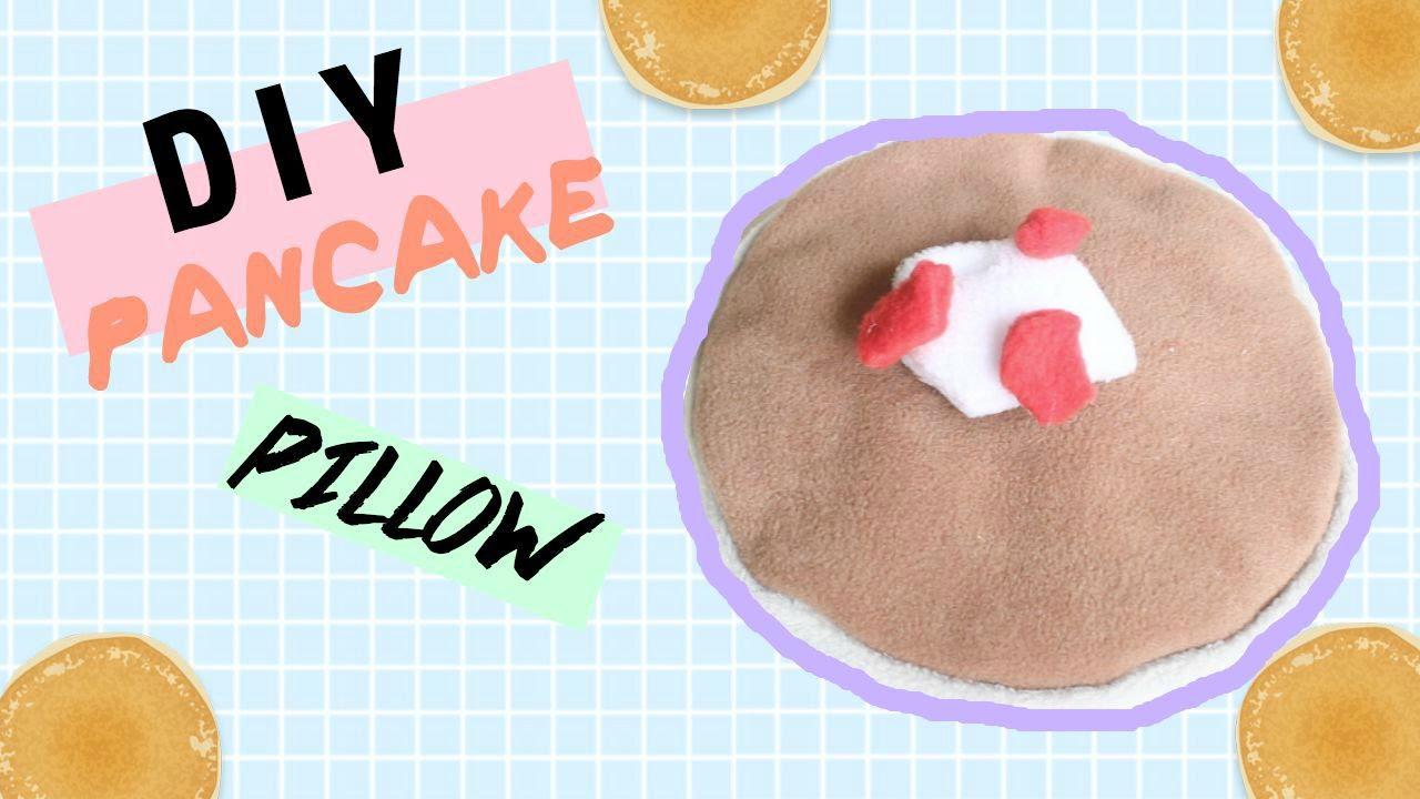 Uncategorized Pancake Pillow diy room decor pancake pillow no sew heartcindy youtube heartcindy