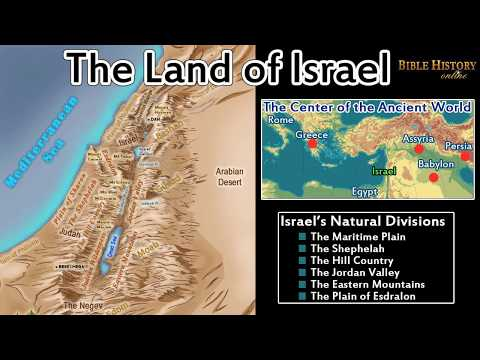 The Land Of Israel - Interesting Facts