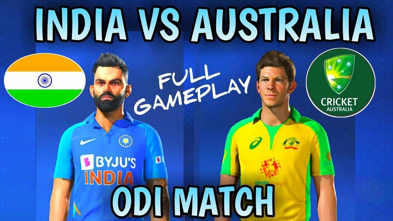 India vs Australia 1st odi Highlights 2020;Ind vs aus 1st ...