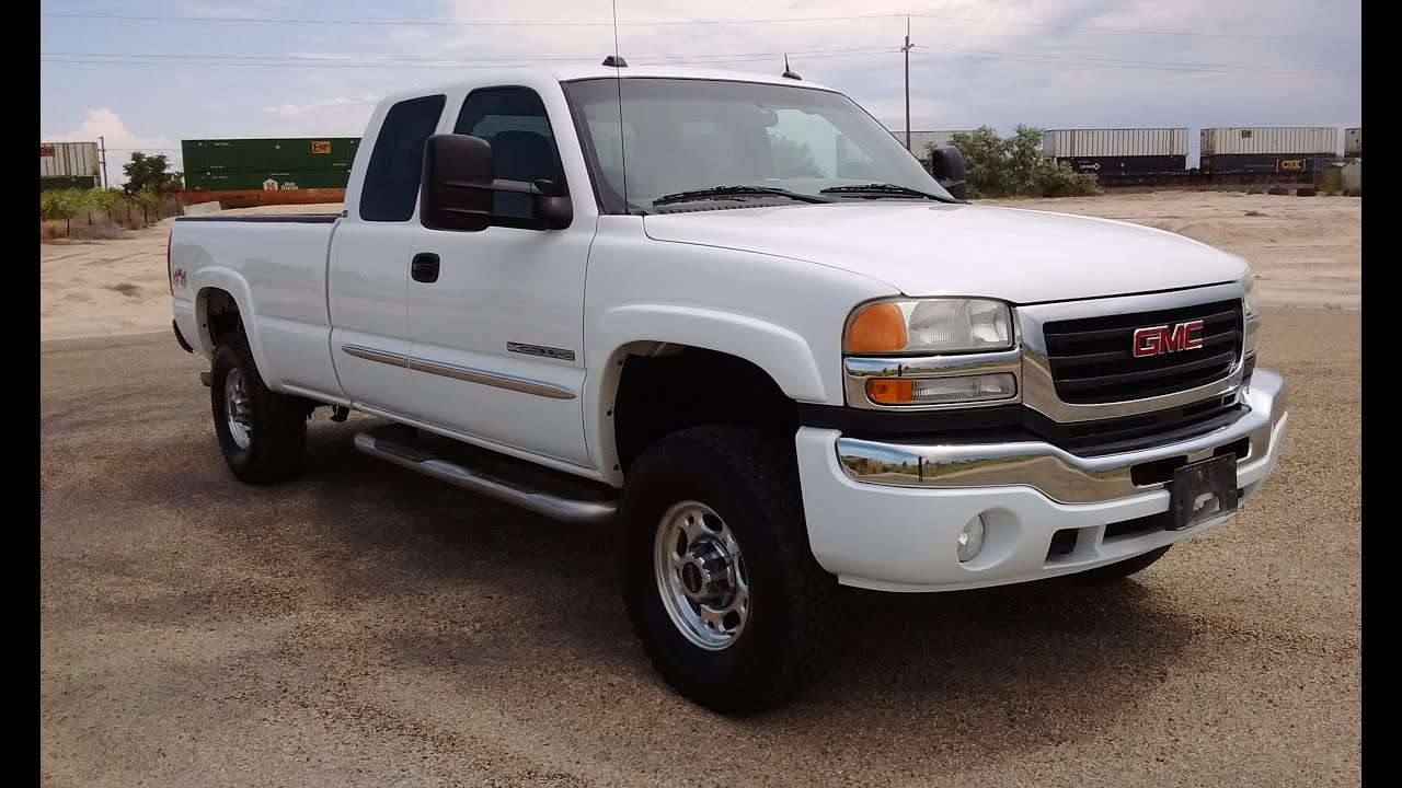 2004 gmc sierra 2500hd extended cab long bed _ vortec 8 1l _ stock 0421 youtube