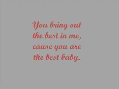 Best in me-Tyrese(lyrics)