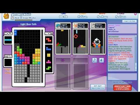Tetris Friends-Arena 6 players