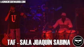 TAF - Sala Joaquín Sabina - Las Noches de Madrid