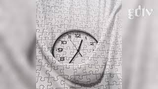 Daniel Arsham Reveals Falling Clock Puzzle