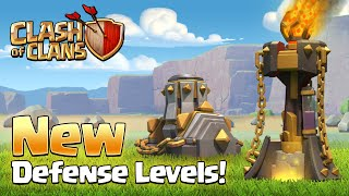 Clash of Clans - New Inferno Tower/Mortar Level and More | Sneak Peak#1 | Spring 2016 Update