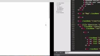 React Tutorials - Converting static HTML into React