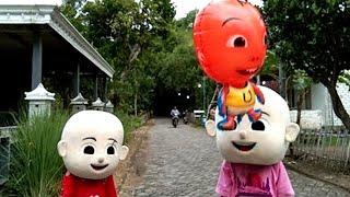 Vlog Membuat Balon Bisa Terbang Sendiri & Qyla Melepaskan ke Langit Balon Karakter UpinIpin, Tayo