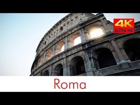 Roma 4k (italy rome city video cinecittà)