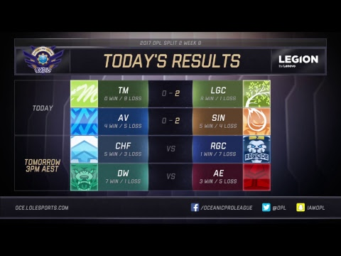 Thumbnail: OPL Split 2 2017 - Week 8 Day 1: LGC vs. TM | AV vs. SIN