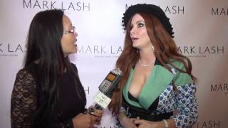 Phoebe Price at Mark Lash Jewelry Oscars Showcase Suite Thumbnail