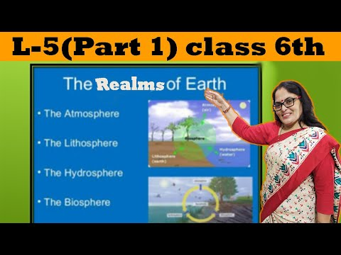 L-5 The Realms of the Earth Part-1(Class 6th D.A.V)