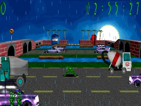 3D Frog Frenzy (Windows game 2000)