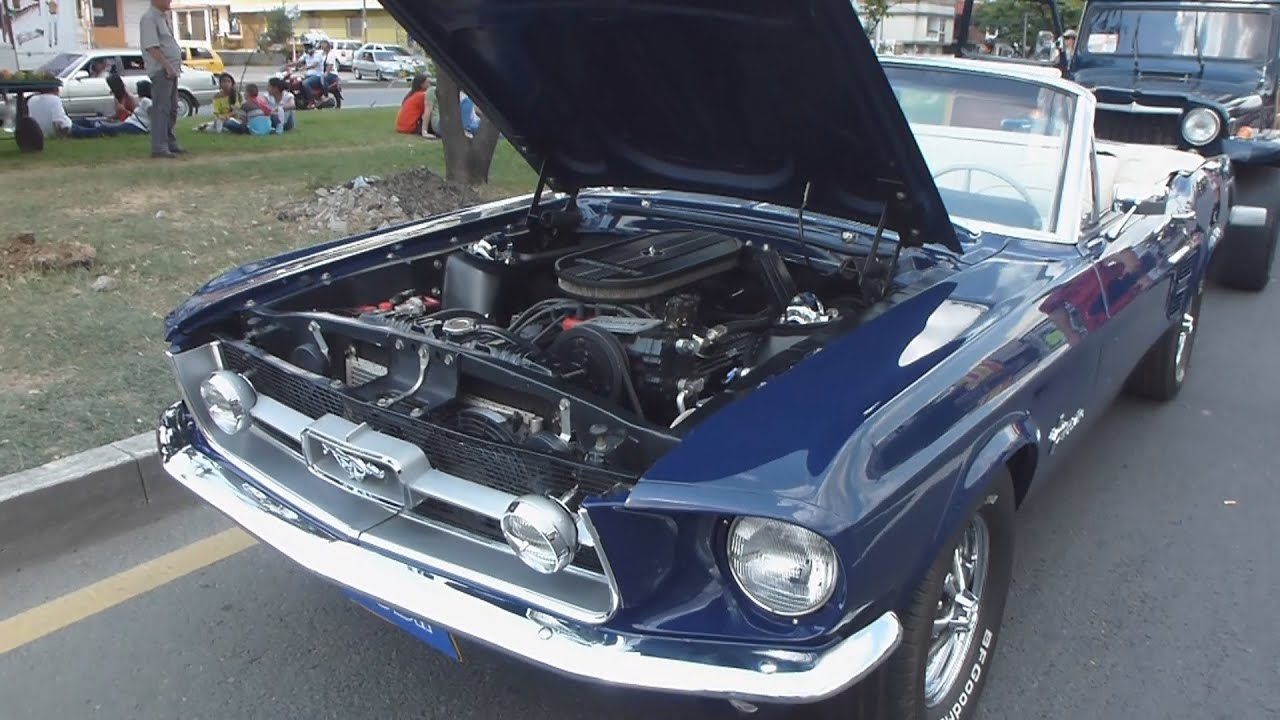 Ford Mustang 302 V8 Convertible 1967 Autos Clasicos