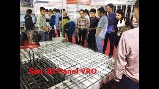3D Panel - Công nghệ xây dựng tường 3D Panel VRO