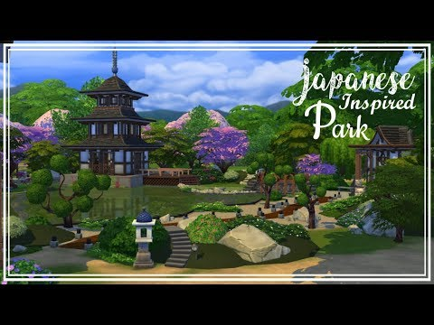 The Sims 4 - Community Build - Japanese Inspired Park