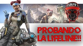💀 ¡LA LIFELINE ME MOLA! 💀∞ APEX LEGENDS