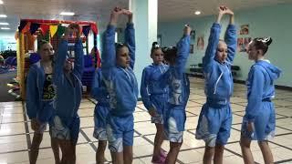Синхронное плавание Тренировка на суше /Первенство России\ Московская обл