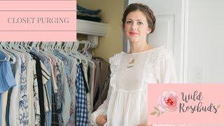 Wild Rosebuds Closet Clean Out Vlog