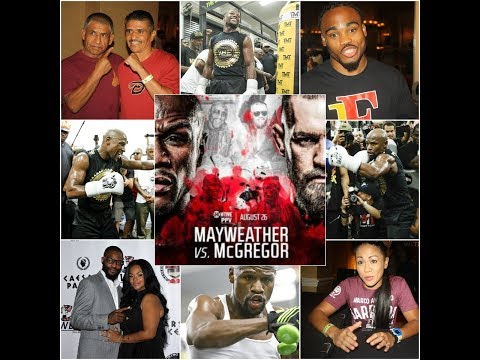 Mayweather vs. McGregor Predictions from former champions, prospects at NVBHOF
