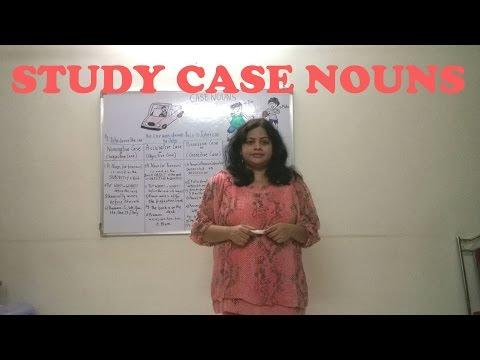 English Grammar -Learn Case Nouns