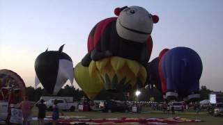 Great Texas Balloon Race Balloon Glow