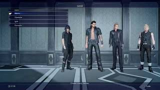 Final Fantasy XV Windows Edition long gameplay chapter 1 part 1/2(PC)[HD]