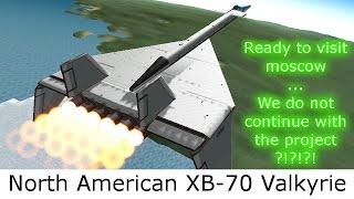ksp xb 70 valkyrie prototype plane b9 aerospace infernal robotics